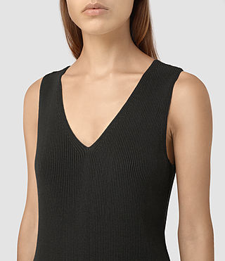 Damen Rassa Dress (COAL BLACK) - product_image_alt_text_2