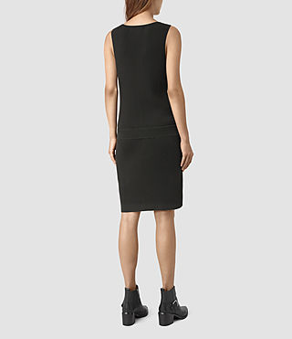 Mujer Rassa Dress (COAL BLACK) - product_image_alt_text_4