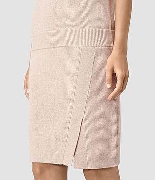 Damen Rassa Dress (SandstonePinkMarl) - product_image_alt_text_2