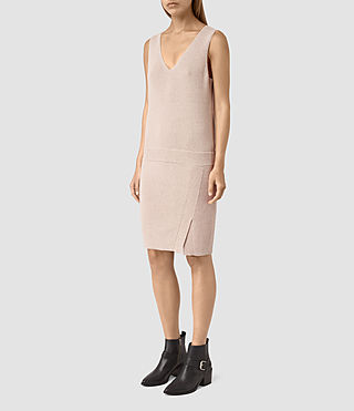 Damen Rassa Dress (SandstonePinkMarl) - product_image_alt_text_4