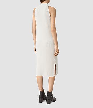 Damen Orro Dress (PORCELAIN WHITE) - product_image_alt_text_4