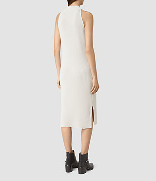 Femmes Orro Dress (PORCELAIN WHITE) - product_image_alt_text_4