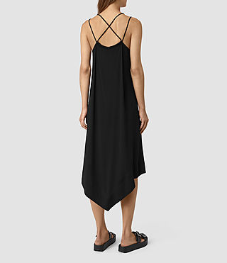 Damen Blaze Strap Dress (Black) - product_image_alt_text_4