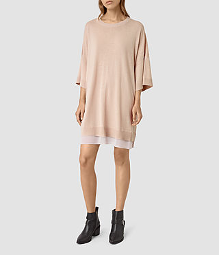 Mujer Relm Knit Dress (Quartz Pink)