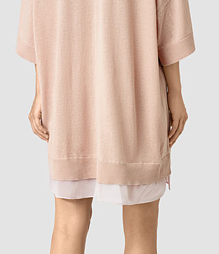 Femmes Relm Knit Dress (Quartz Pink) - product_image_alt_text_2