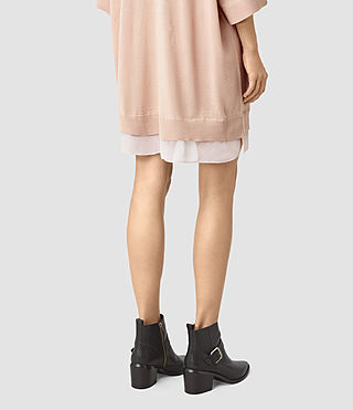 Womens Relm Knit Dress (Quartz Pink) - product_image_alt_text_4