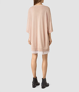 Womens Relm Knit Dress (Quartz Pink) - product_image_alt_text_5