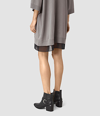 Mujer Relm Knit Dress (gunmetal green) - product_image_alt_text_4