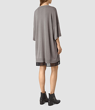 Mujer Relm Knit Dress (gunmetal green) - product_image_alt_text_5