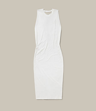 Womens Isla Dress (Vintage White) - product_image_alt_text_8