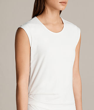 Women's Gamma Dress (Vintage White) - Image 4