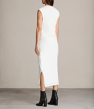 Women's Gamma Dress (Vintage White) - Image 5