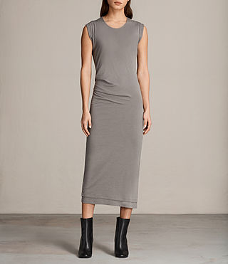 Women's Gamma Dress (ANTHRACITE GREY) - Image 1