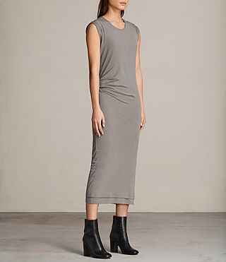 Womens Gamma Dress (ANTHRACITE GREY) - product_image_alt_text_4