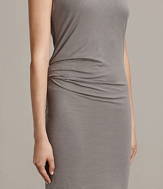 Women's Gamma Dress (ANTHRACITE GREY) - Image 5