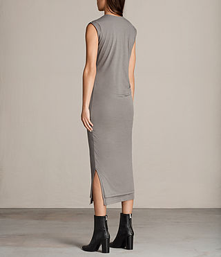 Women's Gamma Dress (ANTHRACITE GREY) - Image 6