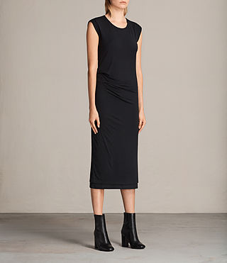 Mujer Vestido Gamma (Black) - product_image_alt_text_3