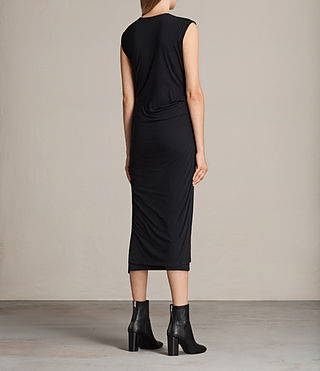 Mujer Vestido Gamma (Black) - product_image_alt_text_5