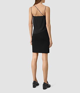 Mujer Mira Dress (Black) - product_image_alt_text_4