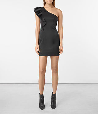 Damen Tali Dress (Black) -