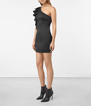 Damen Tali Dress (Black) - product_image_alt_text_2