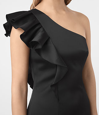 Damen Tali Dress (Black) - product_image_alt_text_3