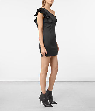 Damen Tali Dress (Black) - product_image_alt_text_4