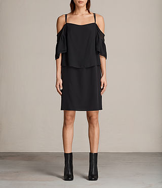 Womens Siva Dress (Black) - Image 1