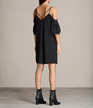 Womens Siva Dress (Black) - Image 5