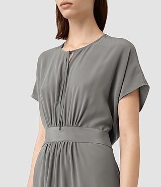 Mujer Nevis Dress (Slate Grey) - product_image_alt_text_2