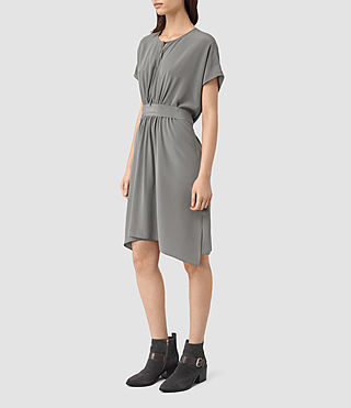 Mujer Nevis Dress (Slate Grey) - product_image_alt_text_3