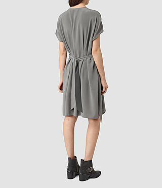 Mujer Nevis Dress (Slate Grey) - product_image_alt_text_4
