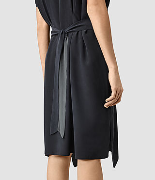 Damen Nevis Dress (Ink Blue) - product_image_alt_text_2