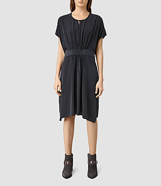 Damen Nevis Dress (Ink Blue) - product_image_alt_text_3