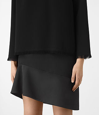 Femmes Robe Shea Sleeve (Black) - product_image_alt_text_2