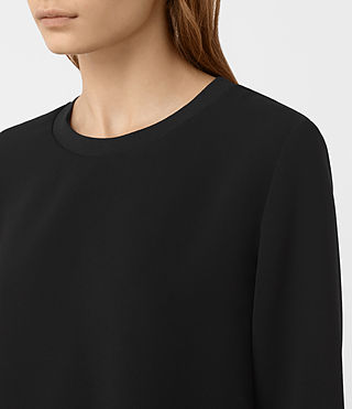 Damen Shea Sleeve Dress (Black) - product_image_alt_text_4