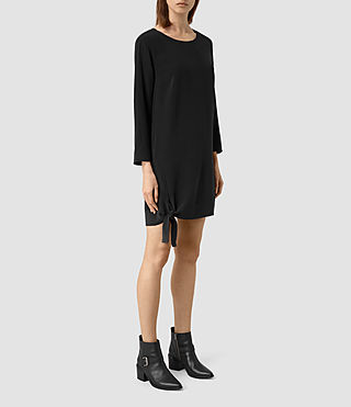 Womens Neely Dress (Black) - product_image_alt_text_2
