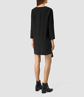 Womens Neely Dress (Black) - product_image_alt_text_3