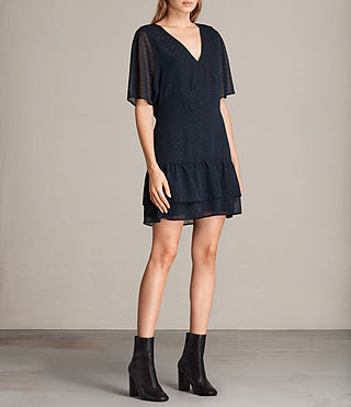 Women's Marley Shimmer Dress (MYSTIC BLUE) - Image 3