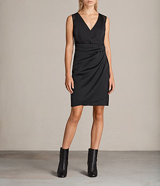 Mujer Vestido Anika (Black) - product_image_alt_text_1