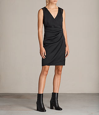 Mujer Vestido Anika (Black) - product_image_alt_text_3