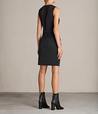 Mujer Vestido Anika (Black) - product_image_alt_text_7