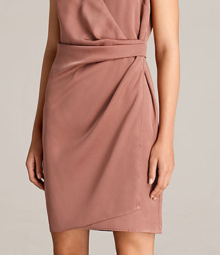 Women's Anika Dress (ASH ROSE PINK) - product_image_alt_text_2