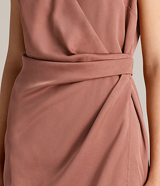 Women's Anika Dress (ASH ROSE PINK) - product_image_alt_text_5