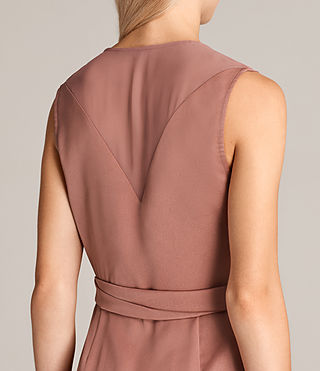 Womens Anika Dress (ASH ROSE PINK) - Image 6