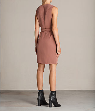 Womens Anika Dress (ASH ROSE PINK) - Image 7