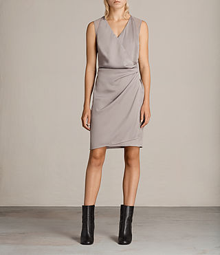 Womens Anika Dress (Silver Grey) - product_image_alt_text_1