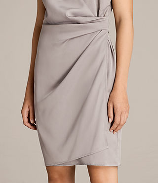 Womens Anika Dress (Silver Grey) - product_image_alt_text_2