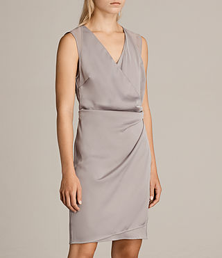 Womens Anika Dress (Silver Grey) - product_image_alt_text_5