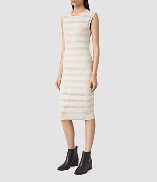 Damen Casto Dress (Grey Melange) - product_image_alt_text_3